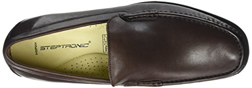 Noir Marron Homme Montana 011 Brown Steptronics Mocassins w4atqqv