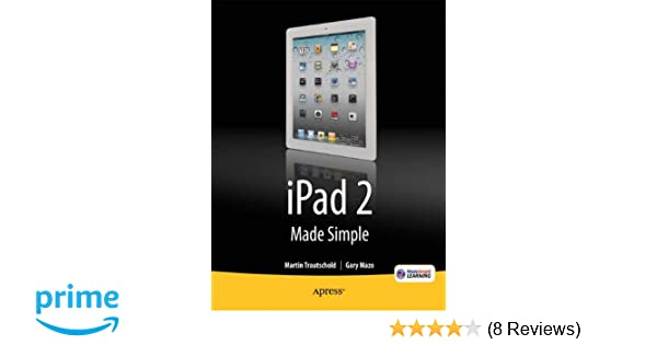 ipad 2 made simple mazo gary made simple learning msl ritchie rene trautschold martin