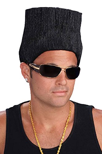 Hip Hop Rapper High Top Fade Costume Wig (High Top Wig)