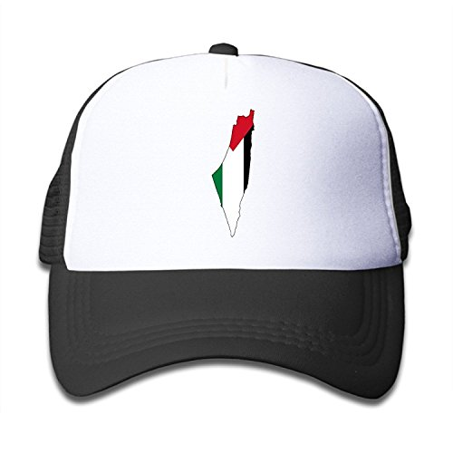 p Of Palestine Children Kids Nylon Adjustable Snapback Hat One Size Fits Most ()