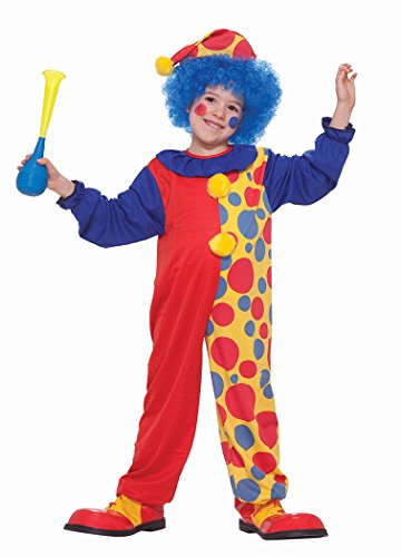 Value Priced Rainbow Clown (Halloween Costumes Clown Girl)