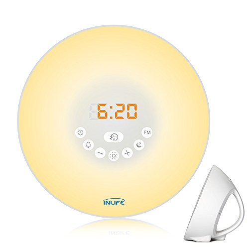 Sunrise Alarm Clock Inlife 2017 Newest Wake Up Light