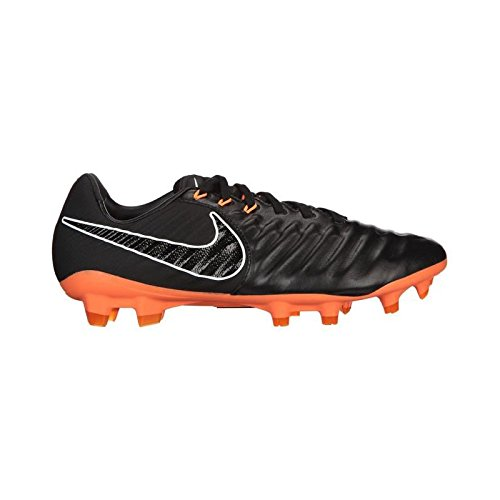 Nike Legend 7 Pro FG Men Soccer Cleats-Black Orange Size: 10