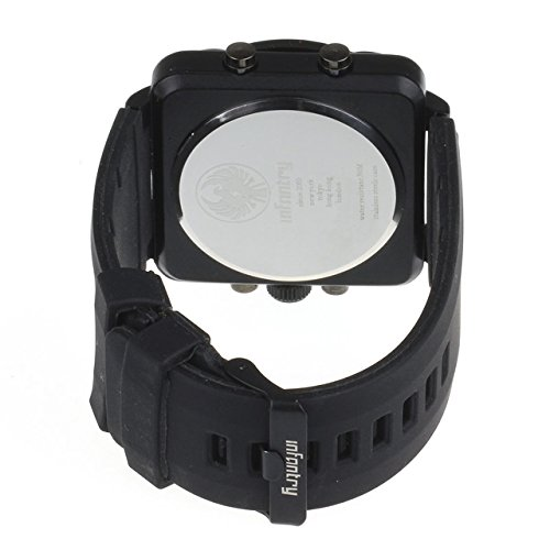 INFANTRY-Big-Face-Mens-Military-Tactical-Sport-Watch-with-Silicone-Band-Heavy-Duty