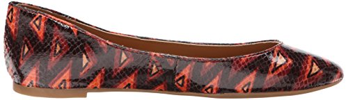 Orange Women's Flat Multi Synthetic Adorabl Ballet West Nine 8Zwg6x