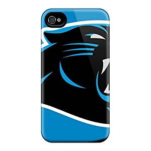 Carolina Panthers Case Compatible With Iphone 4/4s/ Hot Protection Case