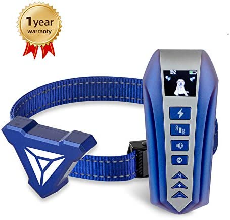 Dog training collar Dog collar with remote sound vibration collar for small medium large dogs rechargeable and waterproof collar