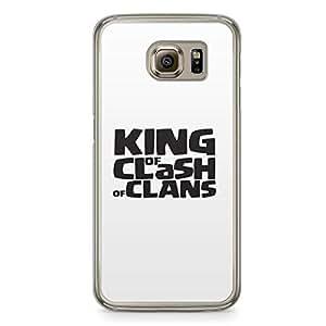 Clash of Clans Samsung Galaxy S6 Transparent Edge Case - King