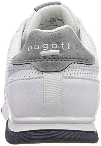 Da Scarpe 321732015900 Bugatti 2000 Uomo Ginnastica Bianco Basse white 6xRw5wd