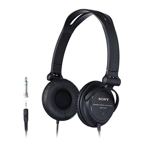 Sony Sound Monitoring DJ Stereo Headphones MDR V150 Electronic Headphones