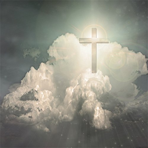 AOFOTO 8x8ft Cross Radiates Light In Sky Backdrop Jesus Christ Photography Background Heaven Cloud Our Lord Resurrection Religious Lent Holy Week Passion Easter Decoration Photo Studio Props Wallpaper]()