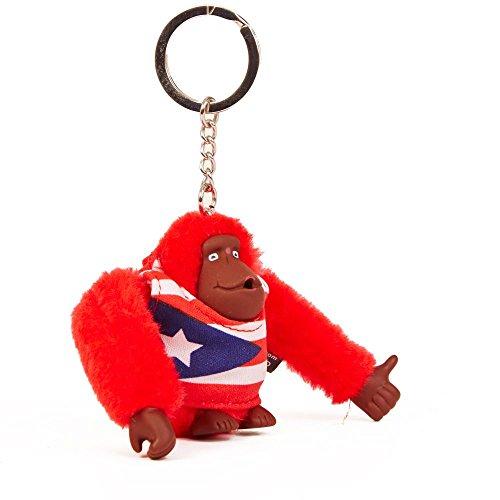 Kipling Women's Puerto Rico Monkey Keychain One Size Multi by Kipling (Image #1)