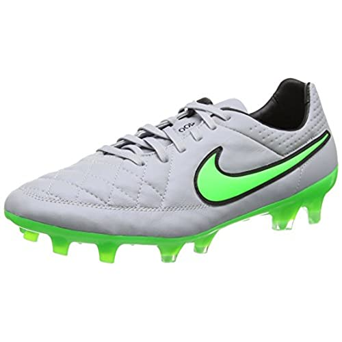 cheap for discount b44a8 bc261 hot sale Nike Tiempo Legend V Firm Ground [WOLF GREY/GREEN ...