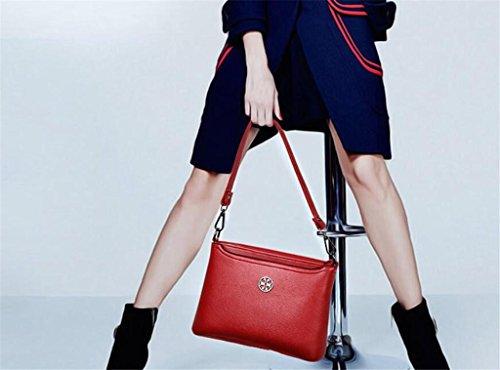 Shoulder Crossed Shopping Bag multi comparto Single Bao Women colori rosso Work Diagonal Cinque xXEwtAUCq