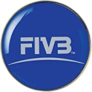 Mikasa TCVA Official Volleyball Toss Coin, Blue/Yellow, Size 1
