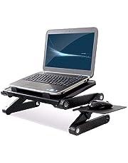 Mesa Suporte Articulado Para Notebook E Tablet Em Aluminio