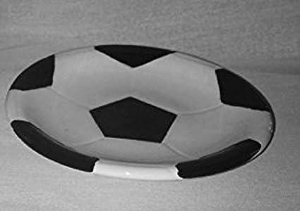 Sports: Soccer Ceramic Stoneware Bathroom Accessories (soap Dish)