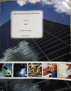 Legal Environment of Business: Legl225