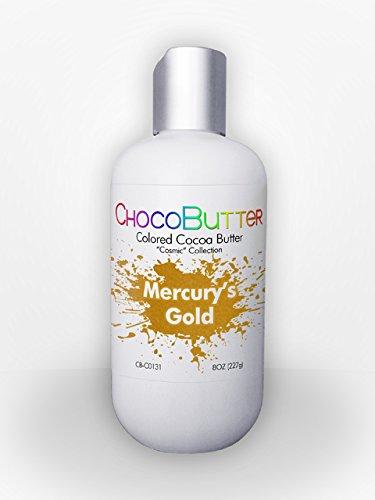- Mercurys Gold - Colored Cocoa Butter