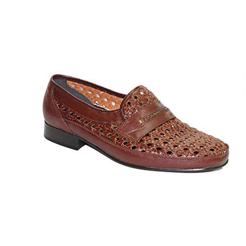 rejilla Zapato sin 30´s cordon en marrón gwdqw4