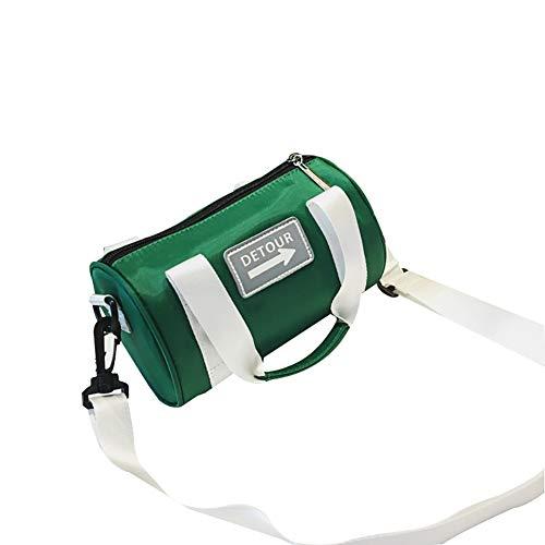 (lightclub cute Adult Kids Girl Fashion Letter Arrow Patch Mini Small Crossbody Shoulder Bag Barrel Pouch Tote Bag For Kids Child Baby Boy Girls)