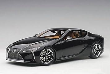 Lexus LC500 Black 1/18 Model Car By Autoart 78849