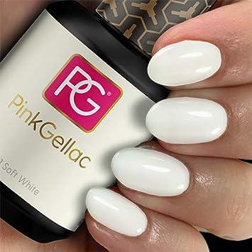 Wonderbaar Pink Gellac 101 Soft White Soak-Off UV/LED Gel - Amazon.com OR-98