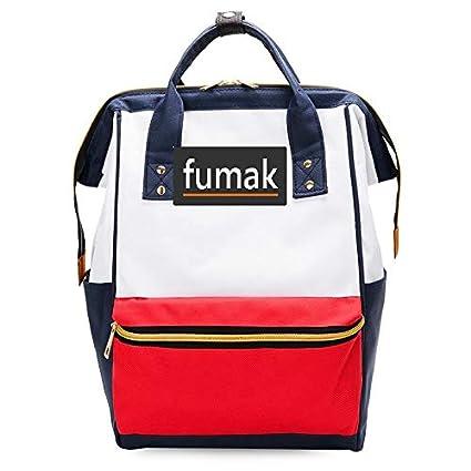 Amazon.com: Laptop Backpack - Fashion Women Backpack Shoulder Bag Laptop Backpack Schoolbags for Teenager Girls Boys Travel Bag Mochila Feminina (Red ...
