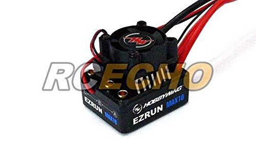 RCECHO® HOBBYWING EZRUN Max10 60A RC Brushless Motor ESC Speed Controller SL555 with 174; Full Version Apps Edition