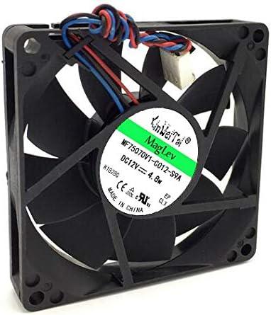original FAN FOR DS08015R12H-006 12V 0.5A 8cm 8015 AVC JY705 200S 220S 530s 531s case fan JY705 PV801512MSPF0A