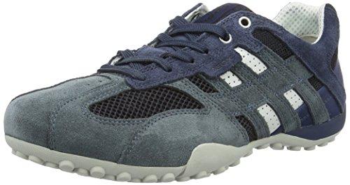 Geox UOMO SNAKE K U4207K01422C6105 Herren Sneaker Blau (Avio/Blackc4321)