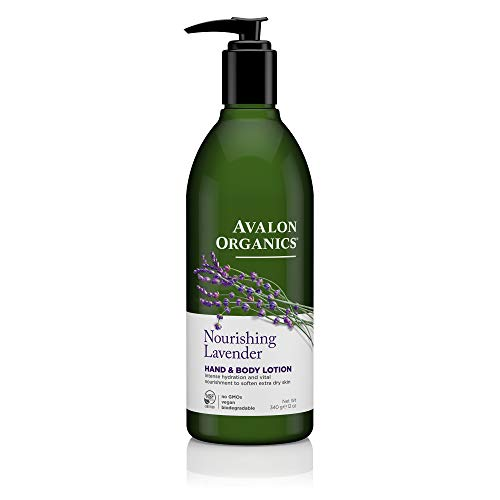 Avalon Organics Nourishing Lavender Hand & Body Lotion, 12 oz. ()
