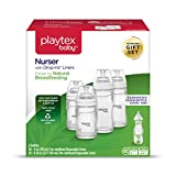 Health & Personal Care : Playtex Baby Nurser Baby Bottle with Drop-Ins Disposable Liners, Closer to Breastfeeding, Gift Set
