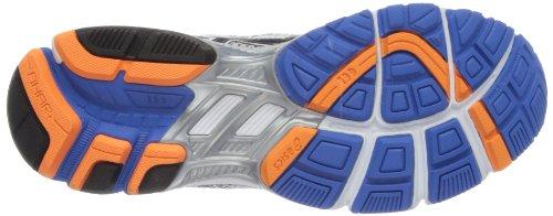 Asics GT 1000 M, Chaussures de Course Homme, Bleu Argent Métallique