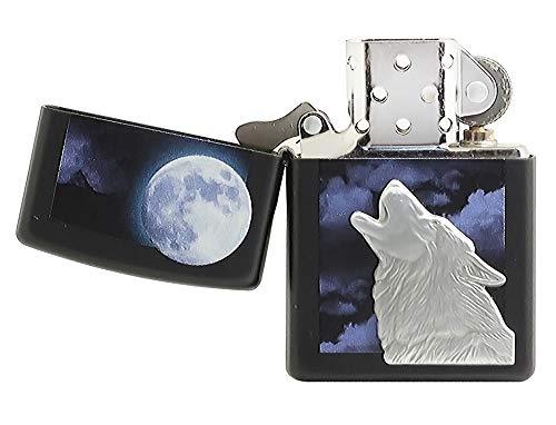 Zippo (28879) - Howling Wolf, Black ()