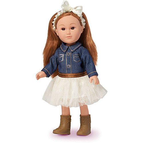 "7"" My Life As - COWGIRL Mini Doll (Walmart Exclusive ) - Perfect Size to Take Along Anywhere, Fun Hair to Play with and Style, Her Cute Outfit is Removable. -  Just One You made by carter's"