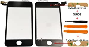 Replacement touch screen digitizer for Apple iPod Touch 2 2nd Generation+Repair tools