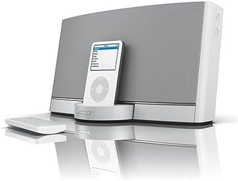 Bose Sounddock portable digital music system.