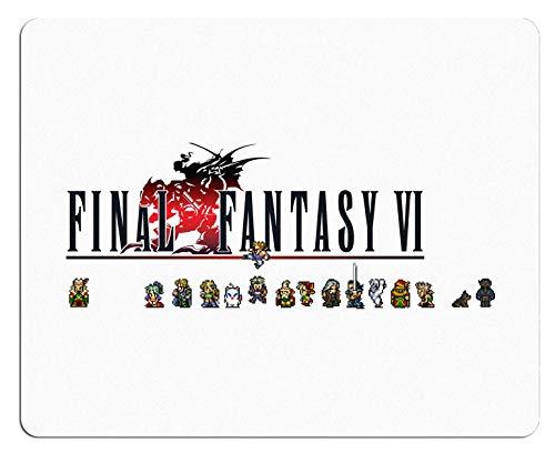 Final Fantasy VI Mousepad - Final Fantasy 6 Mousepad - Final Fantasy Mousepad (Mouse Final Fantasy)
