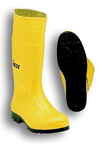 Seba 10CE STIEFEL, PVC, gelb/schwarz S5, Größe 40
