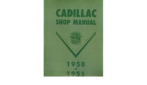 Stepbystep 1950 1951 Cadillac Factory Repair Shop Service Manual Rhamazon: 1951 Cadillac Wiring Diagram At Gmaili.net