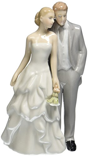 (Cosmos 96668 Fine Porcelain Couple Figurine, 5-3/4-Inch)