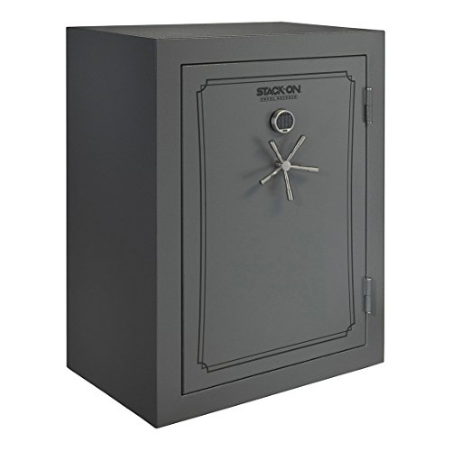 Stack-On TD-69-GP-E-S Total Defense 51-69 Gun Safe with Electronic Lock, Gray Pebble (Replacement Safe Parts Gun)