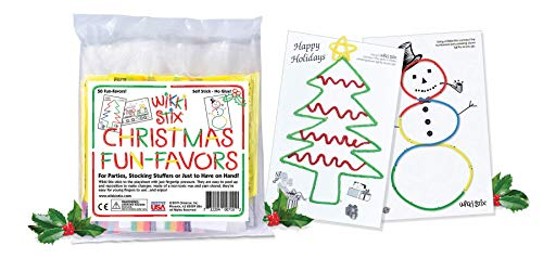 Arts and Crafts for Kids Christmas Party Favors, Non-Toxic, Waxed Yarn, Fidget Toy, Reusable Molding and Sculpting…