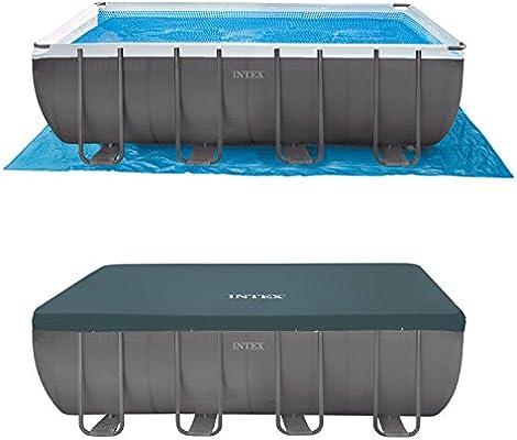 Oferta piscina Intex 28352 Ultra Frame 549 x 274 x 132 + Robot + ...