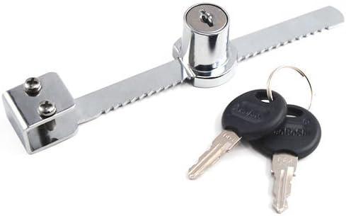 Showcase Vitrina puerta de cristal corredera cerradura y 2 llaves cierre de seguridad Reino Unido: Amazon.es: Hogar