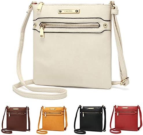// Damentasche in LEDERoptik Schultertasche Handtasche Kunstleder NEU Größe