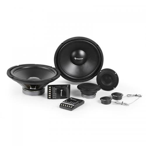 Auna CS Comp-12 Professional Car HiFi Stereo Speakers Two 3-Way Crossovers...