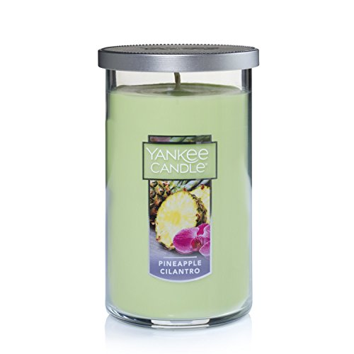 Yankee Candle Medium Perfect Pillar Candle , Pineapple Cilantro