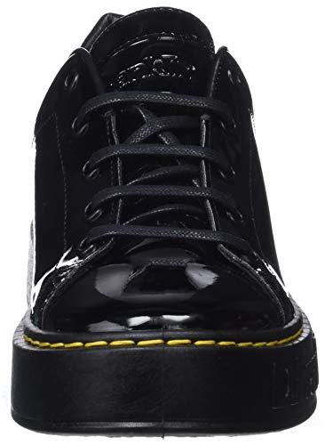 0020 D Mujer Franklin negro Negro Para Zapatillas Gumme Patent ggv18